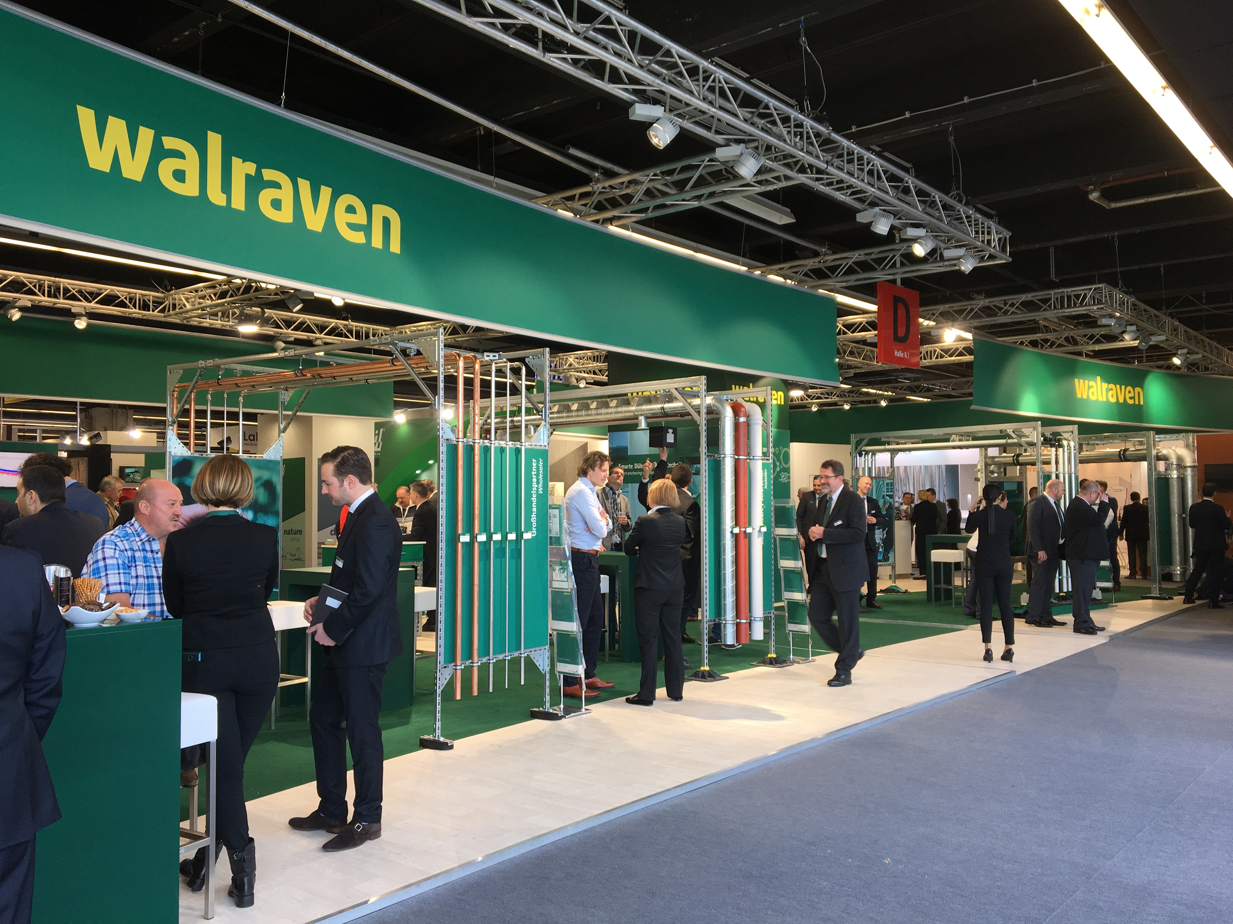 ISH 2017 – Walraven welcomed thousands of visitors over the 4 day event