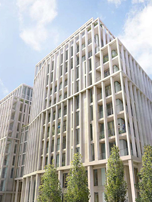 Passive fire protection on prestigious residential development in Westminster