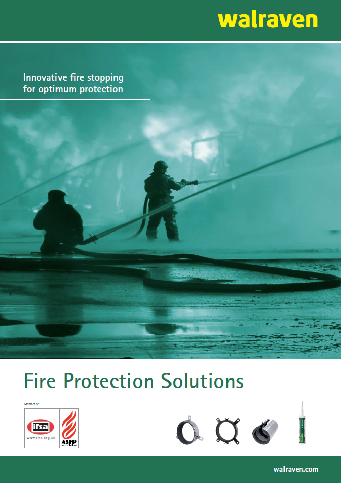 Fire Solutions Brochure cover