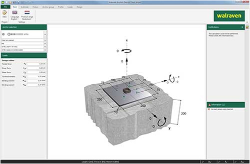 Download Walraven Anchors Design software