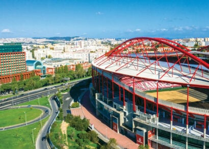 Upgrading the pipe system of the Benfica Stadium