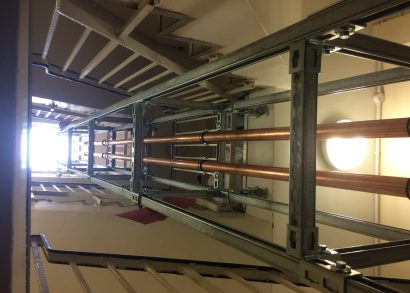 Walraven provide smart solution for stairwell installation