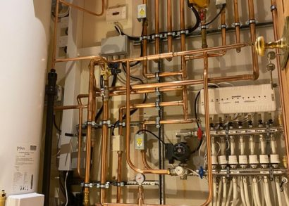 Using RapidRail® for domestic hot water cylinder installations