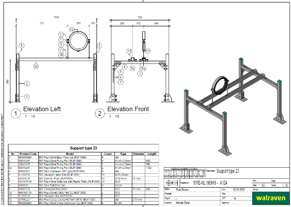 pipe support system