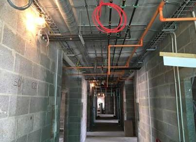 70% reduction in installation time for luxury care home project