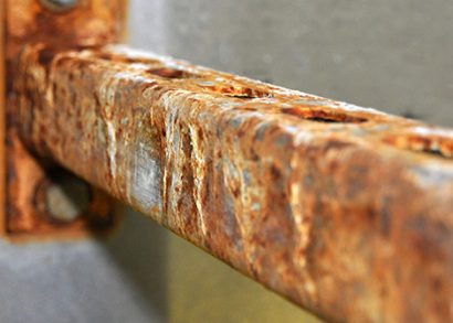 How to prevent corrosion of installation and fixing materials