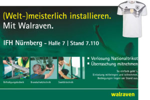 Walraven @ IFH/Intherm 2018