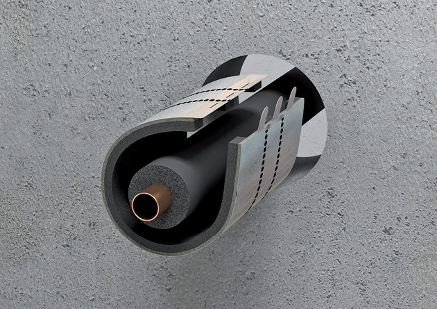 Pipe and cable penetrations right solution