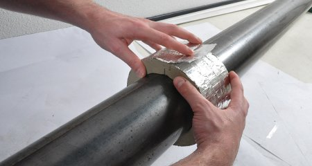 pipe clamp insulation