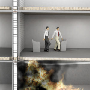 how does passive fire protection work