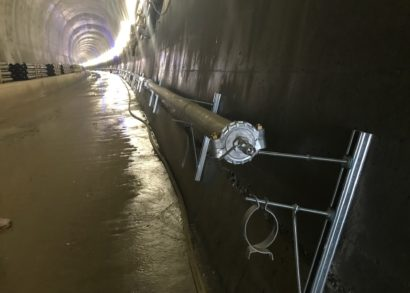 Tailor-made and time-saving solution for railway tunnel